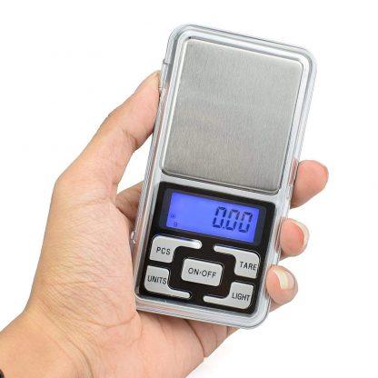 Digitálna vrecková mini-váha 200g (presnosť 0,01g) 5