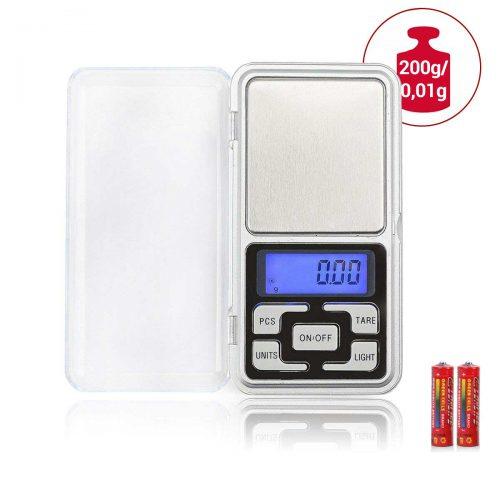 Mini digitálna váha 0,01g