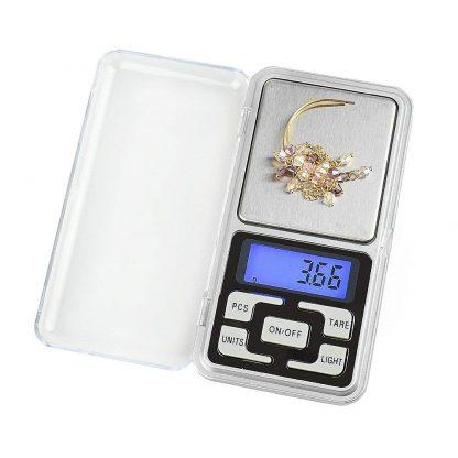 Digitálna vrecková mini-váha 200g (presnosť 0,01g) 1