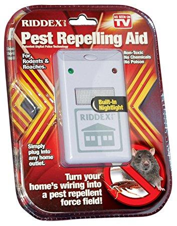 Odpudzovač hmyzu a hlodavcov 1 + 1 Zdarma 3